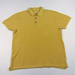Rag & Bone NY Yellow Polo Pique Shirt XXL